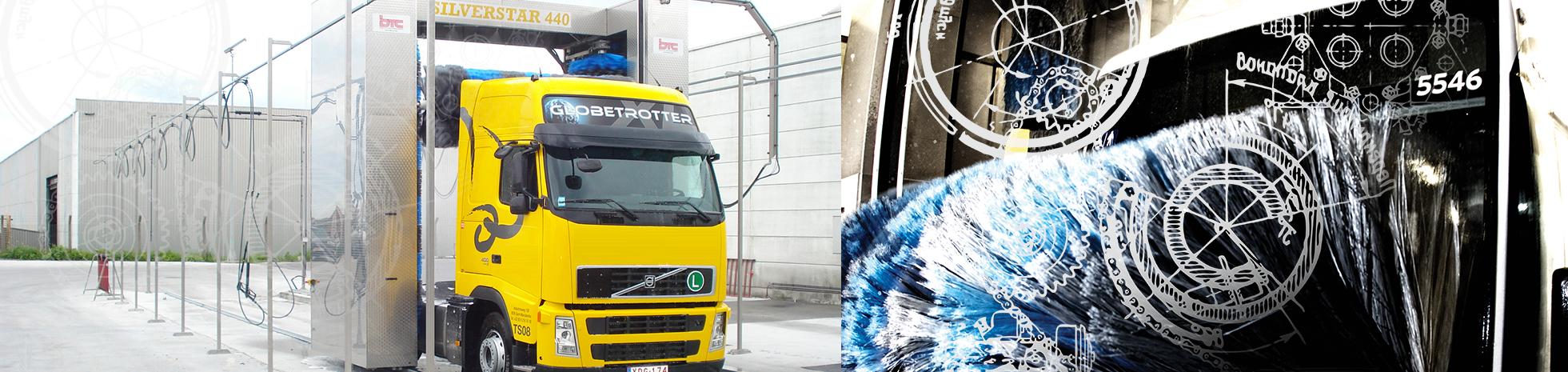 De beste wasinstallaties op de markt voor trucks, trams, metros, treinen en bussen.