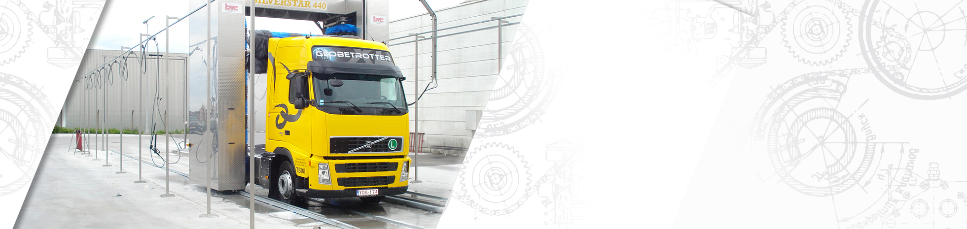 BTC - Manufacturer of truck, bus, train and tram wash installations