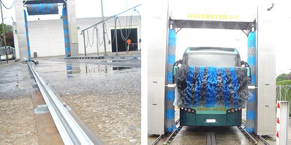 De BTC Silverstar bus wash levert top prestaties